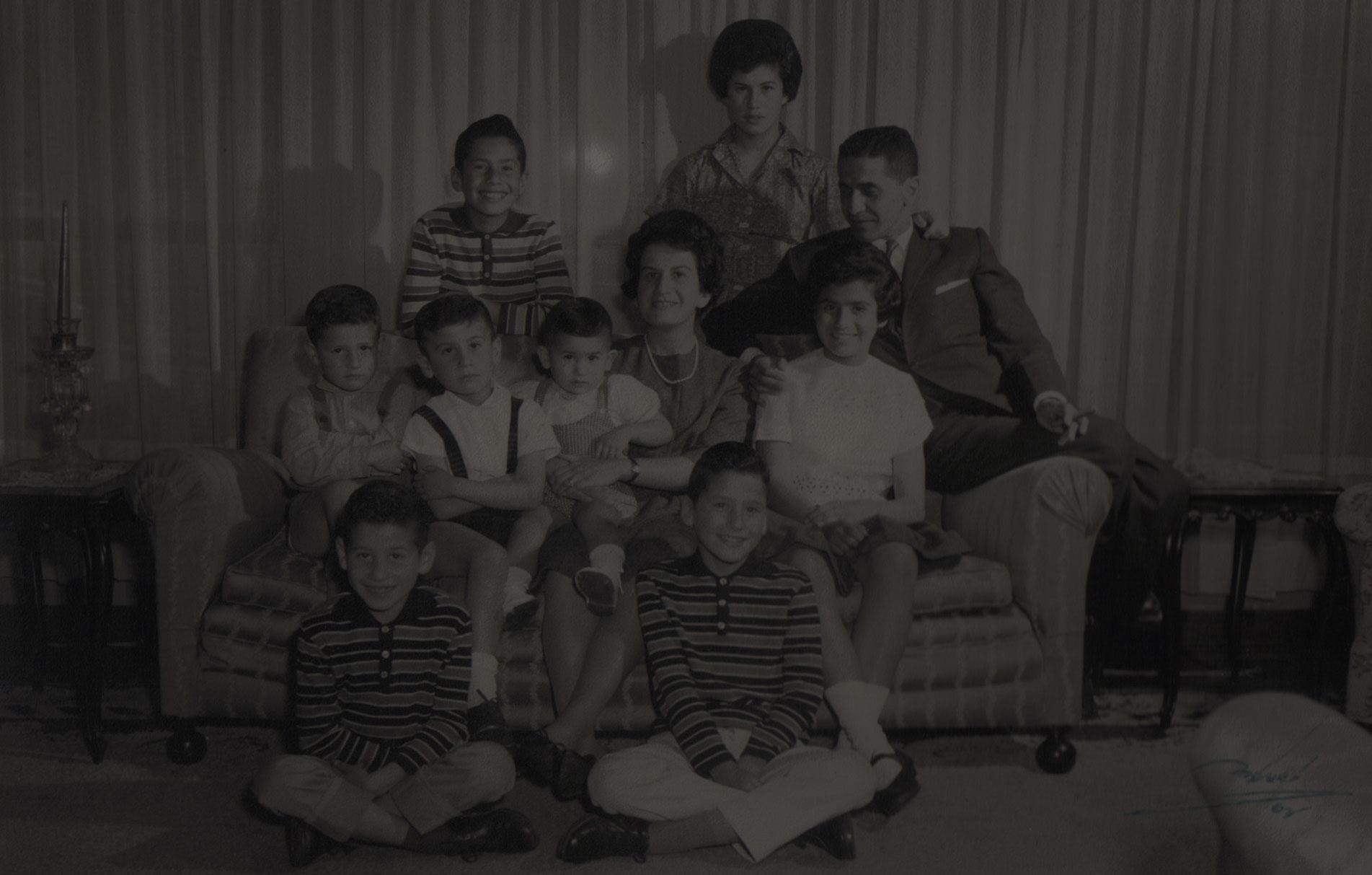 Familias Estudiadas en las Revistas de Estudios Históricos