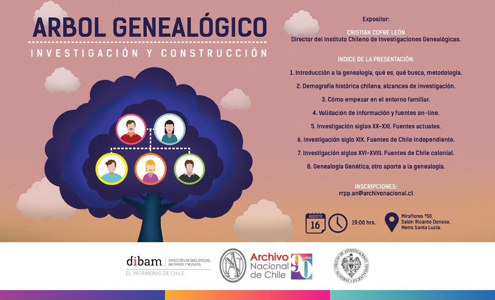Afiche Segundo Taller de Genealogia - Julio 2017 - 2-01