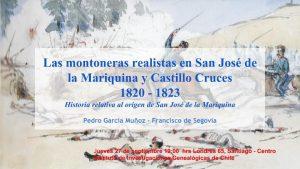 Montoneras San José