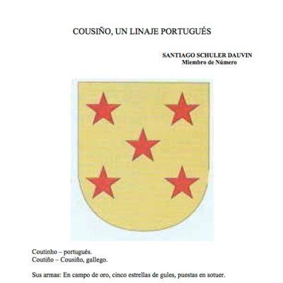 Cousiño, Un Linaje Portugués