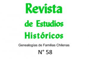 Resumen de la nueva Revista de Estudios Históricos, Nº 58