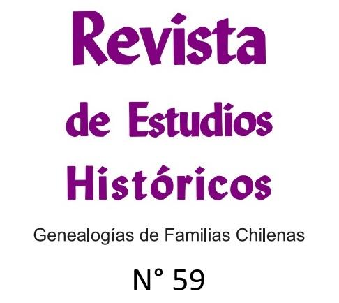 Revista de Estudios Históricos N° 59